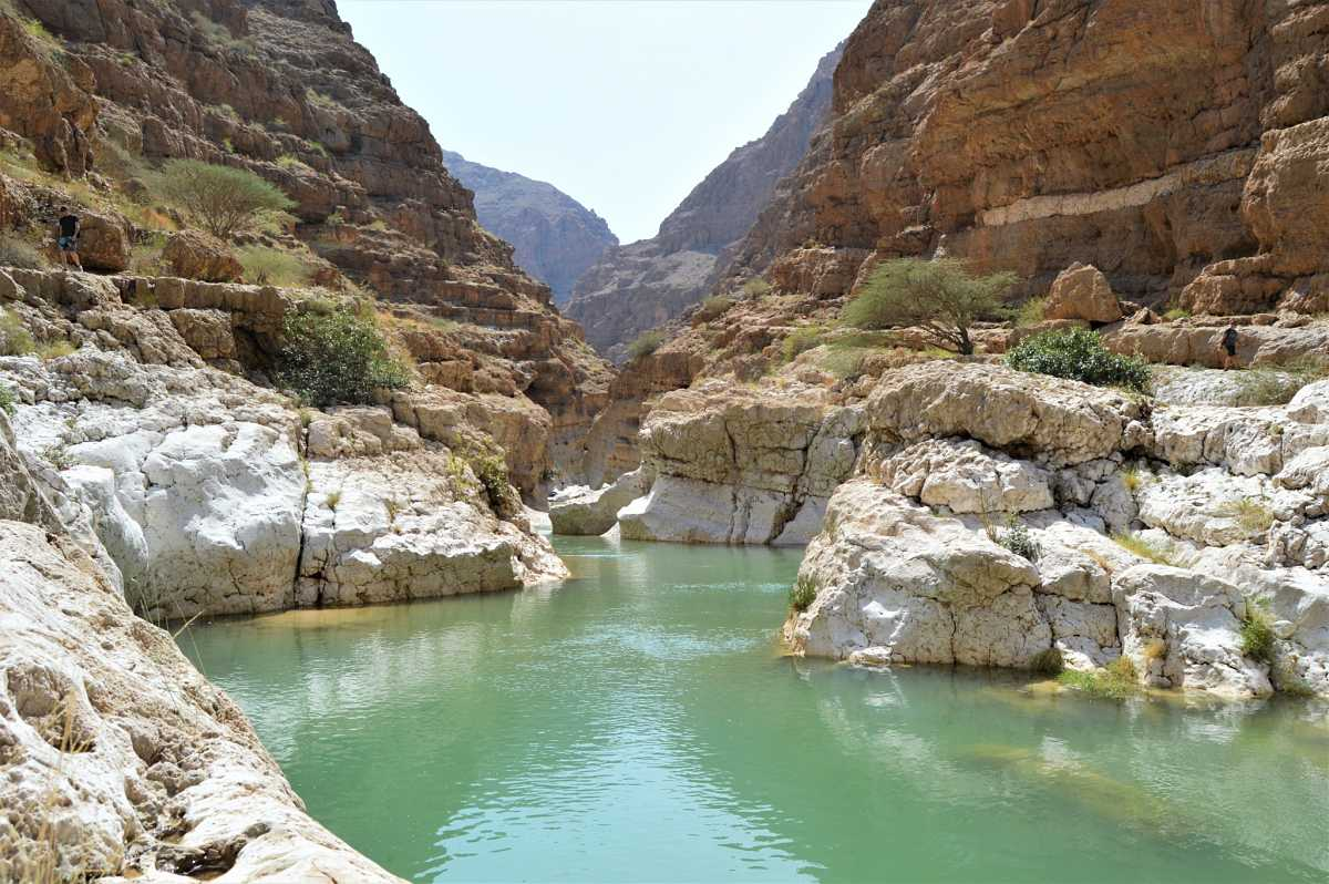 wadi shab tour from Sur Oman